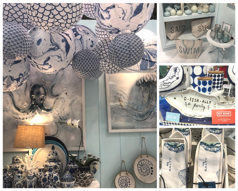 Ok, not exactly a new trend, but who doesn't love sail away blues and coastal vibes for summer entertaining?