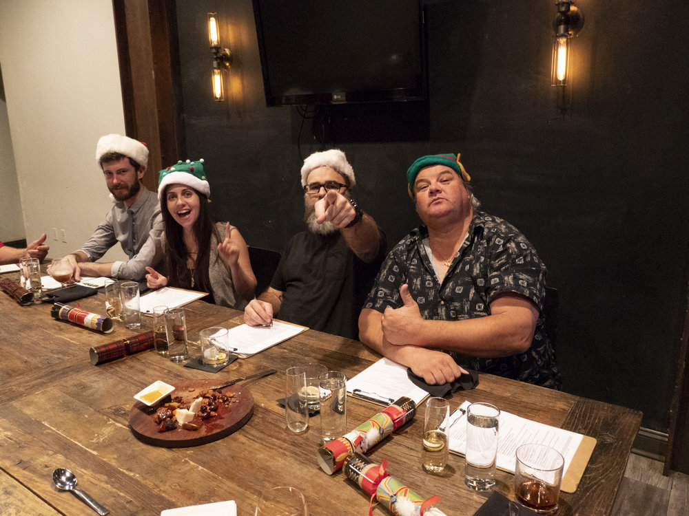 Ian, Nicole, James, and Tom