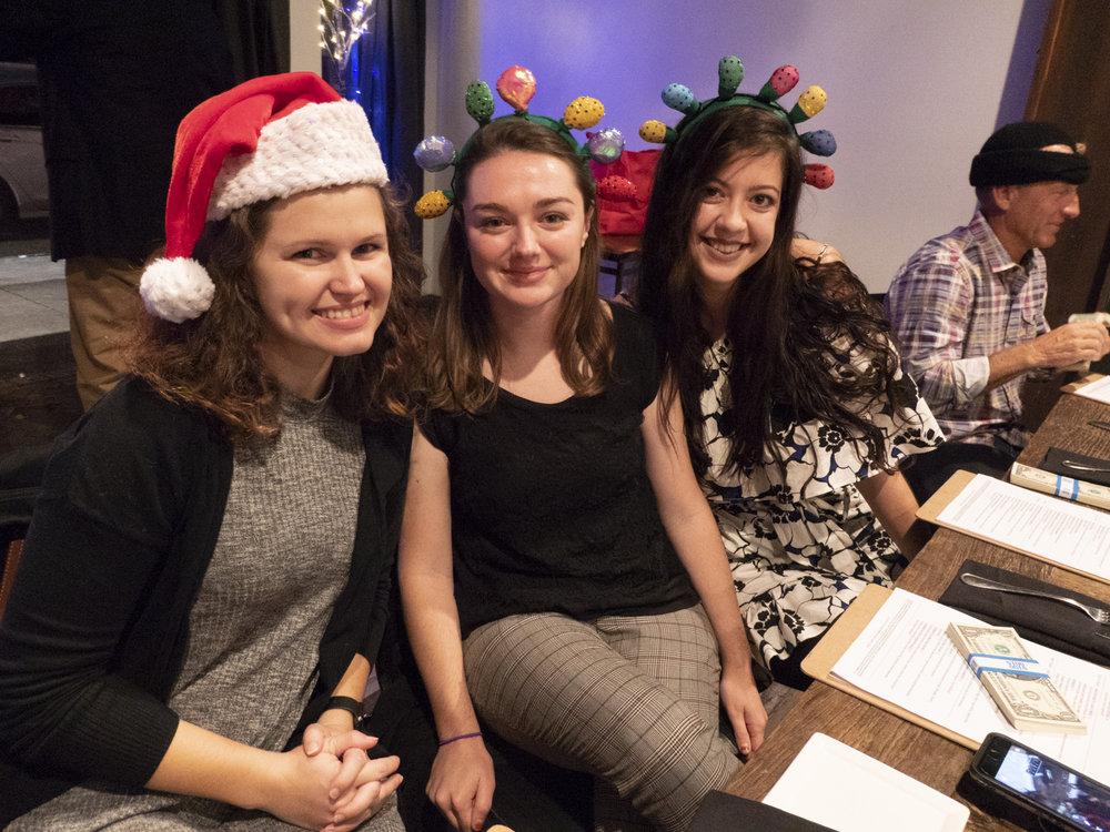 Kayla, Keara, and Sarah