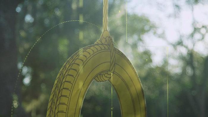 YELLAWOOD </br><em>Picnic Table + Swingset</em>|motion