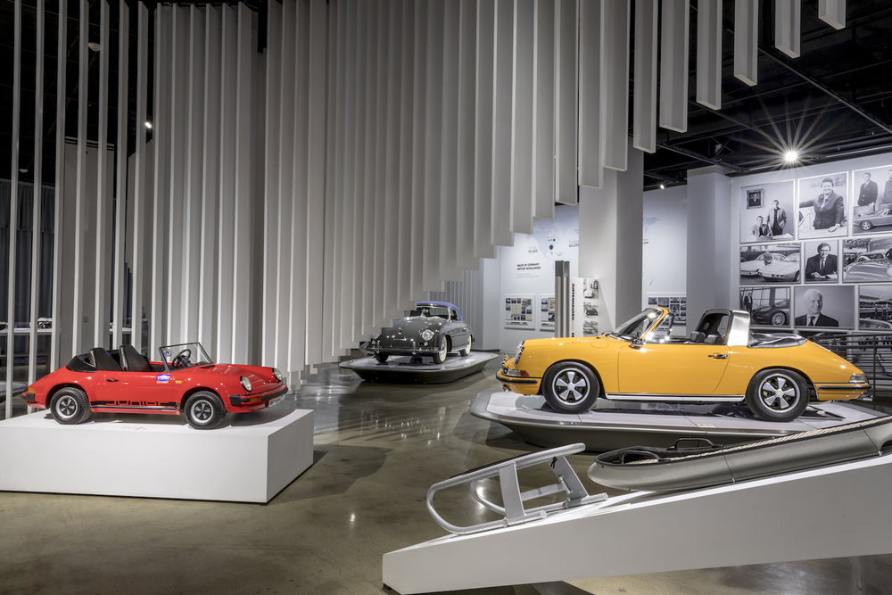 Porsche Exhibit Photos - Exhibit now on view