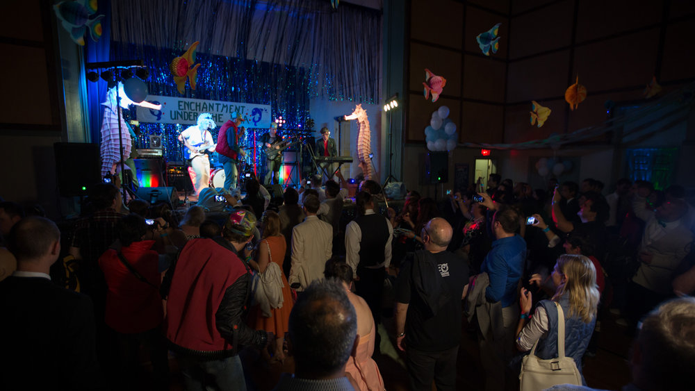 Saturday, April 23rd , visitors can wear their best 80's outfits and go back in time as the Petersen re-creates the Enchantment Under the Sea dance from Back to the Future. Guests will rock out to the 80's rock sensation Missing Persons, and Back to the Future tribute band, The Flux Capacitors . Tickets are $40 per person, $20 for museum members, and are available at  Petersen.org . Additional events are planned including an appearance by the DeLorean Club at a Petersen Breakfast Club Cruise-In, a full length showing of the film chronicling the restoration of the Back to the Future car, and a Back to the Future movie night. Dates and times are available on  Petersen.org .