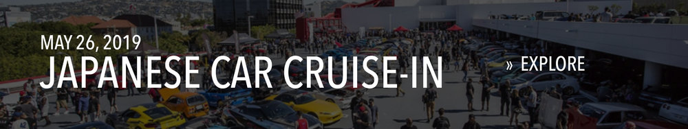 Japanese Car Cruise-In on May 26, 2019.