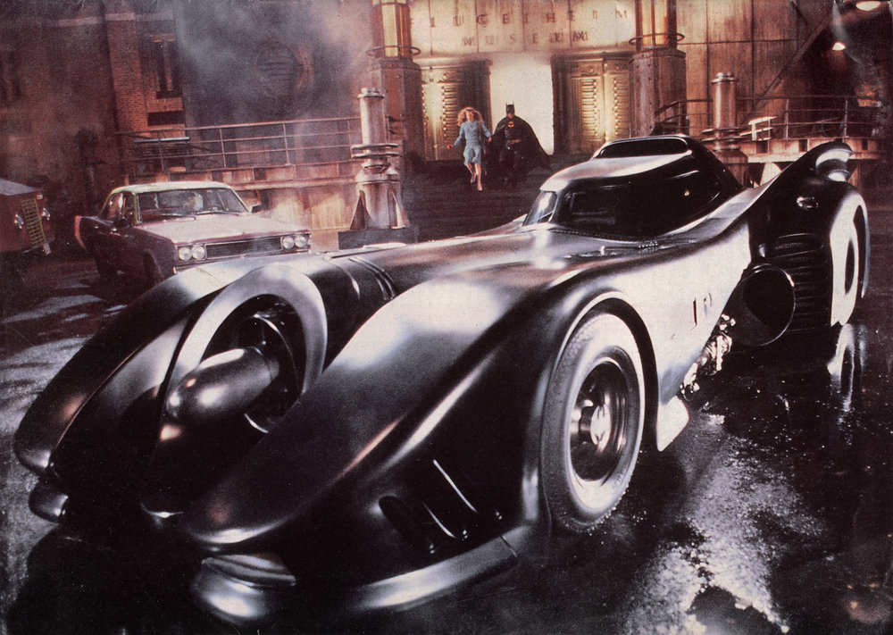 LEARN MORE ABOUT THE 1989 BATMOBILE - ON DISPLAY