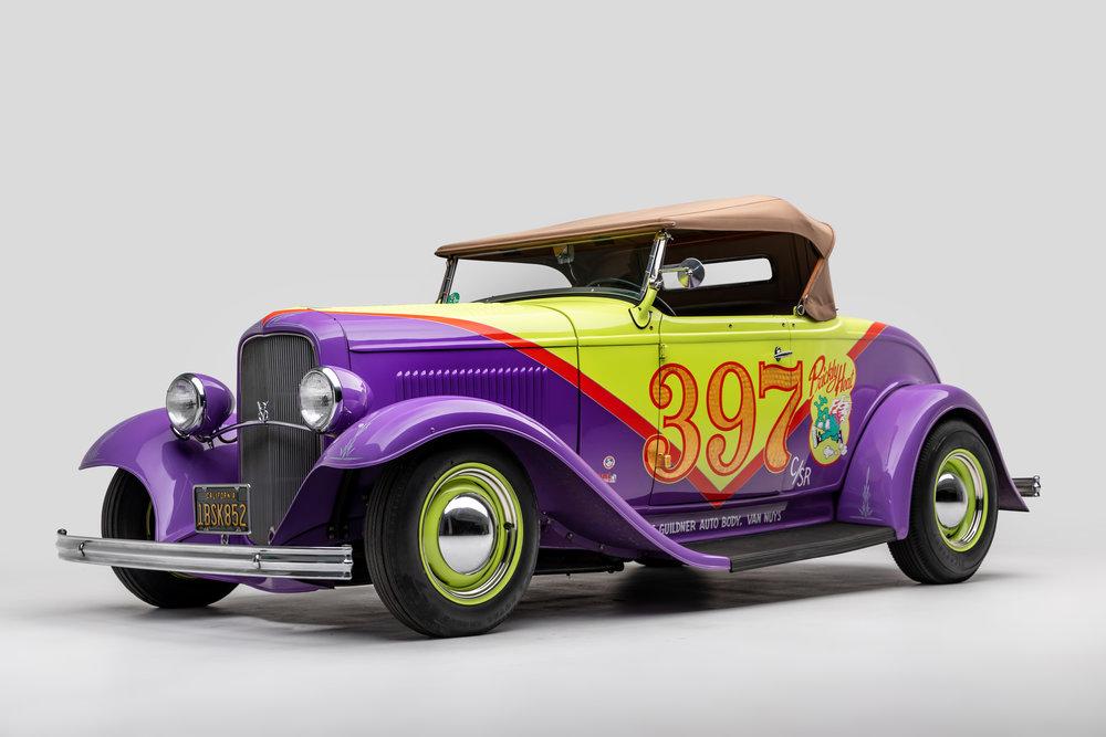 "1932 Ford roadster ""prickly heat"" by Robert Williams 2.jpg"