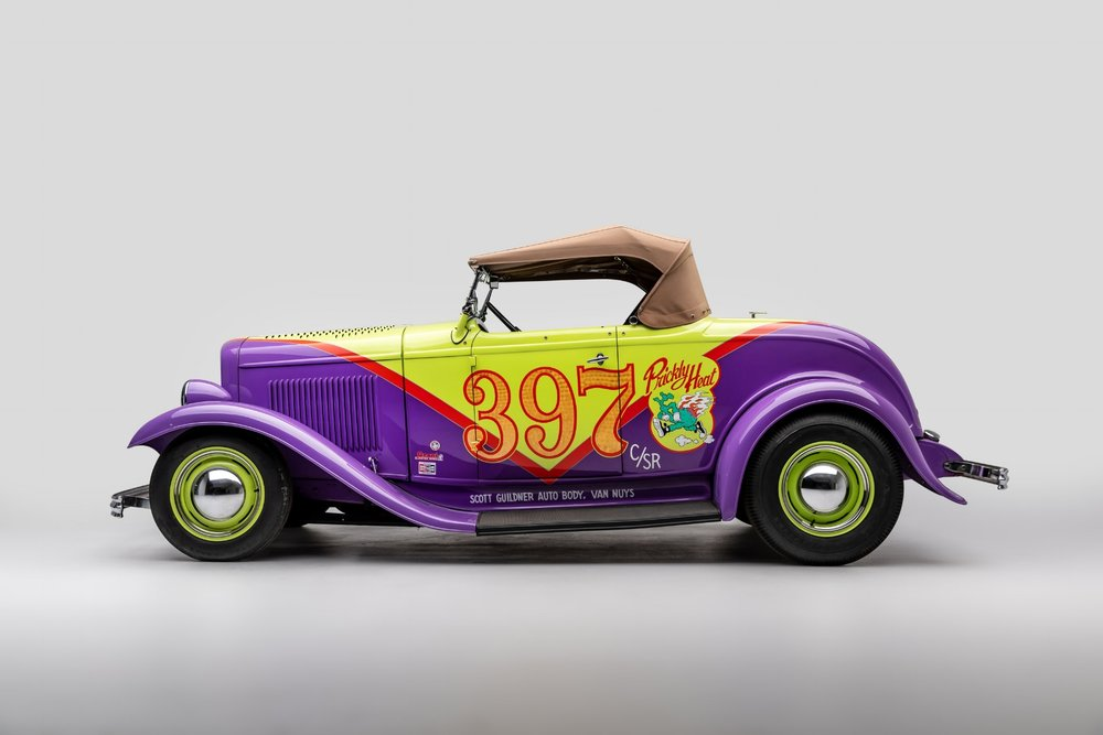 "1932 Ford roadster ""prickly heat"" by Robert Williams.jpg"