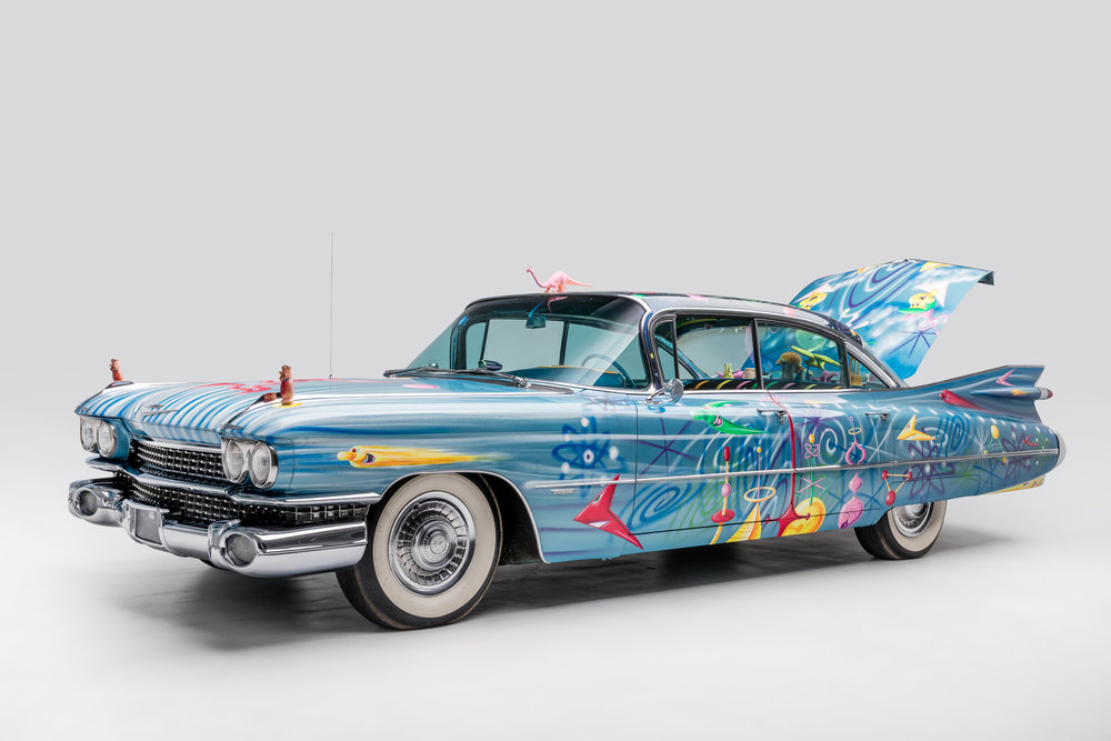 1959 Cadillac Sedan New Improved Ultima Deluxa by Kenny Scharf 3.jpg