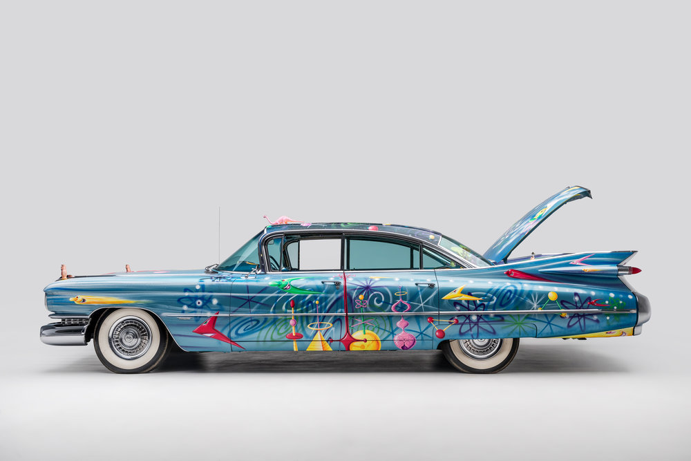 1959 Cadillac Sedan New Improved Ultima Deluxa by Kenny Scharf 4.jpg