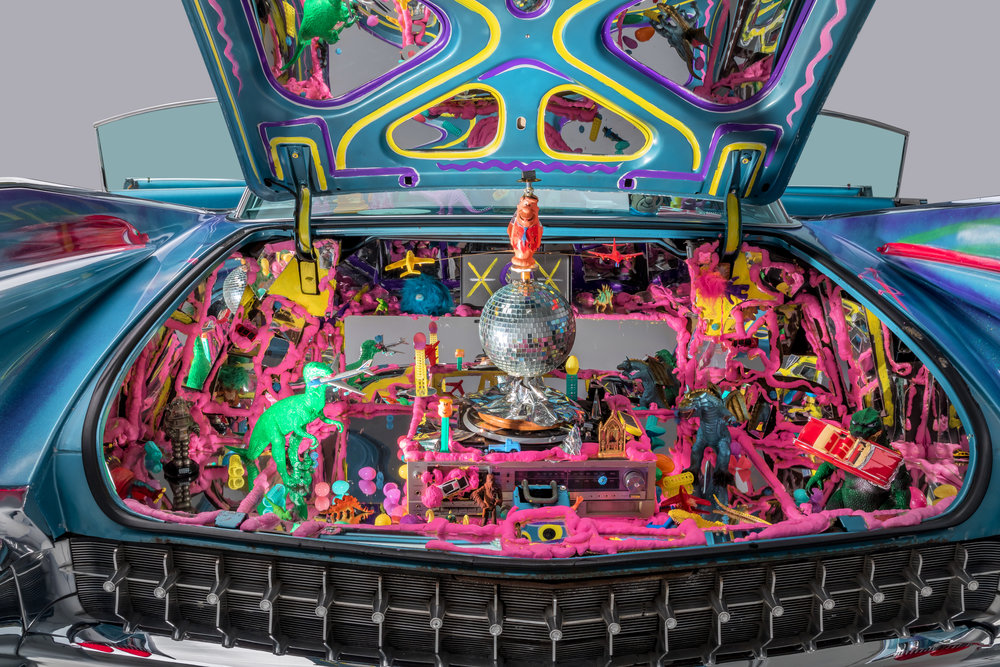 1959 Cadillac Sedan New Improved Ultima Deluxa by Kenny Scharf 2.jpg