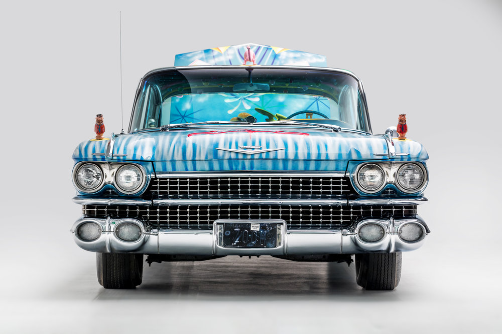 1959 Cadillac Sedan New Improved Ultima Deluxa by Kenny Scharf.jpg