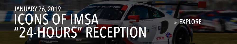 "Icons of IMSA ""24 Hours"" Reception on January 26, 2019"