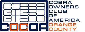 Cobra Owners Club of America, Orange County Logo