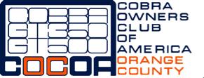 Cobra Owners Club of America Orange County logo