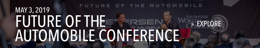 Future of the Automobile Conference in May of 2019.