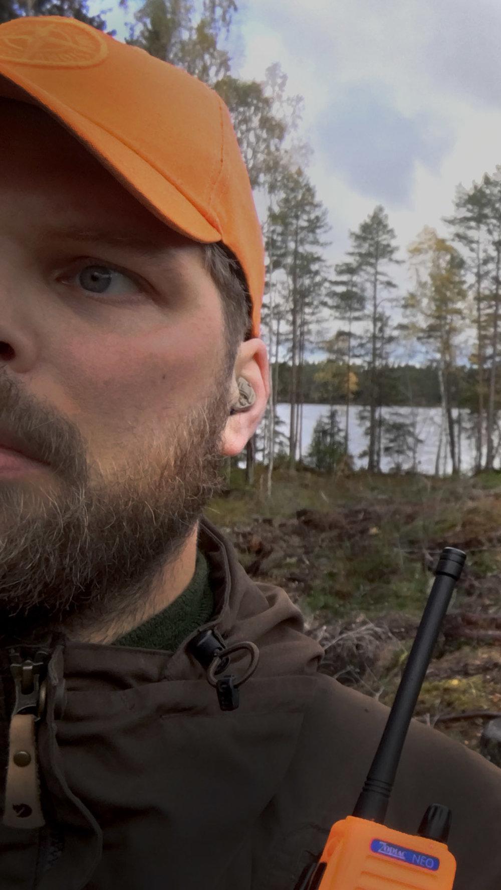 Väl på plats i örat märks hörselskydden knappt.