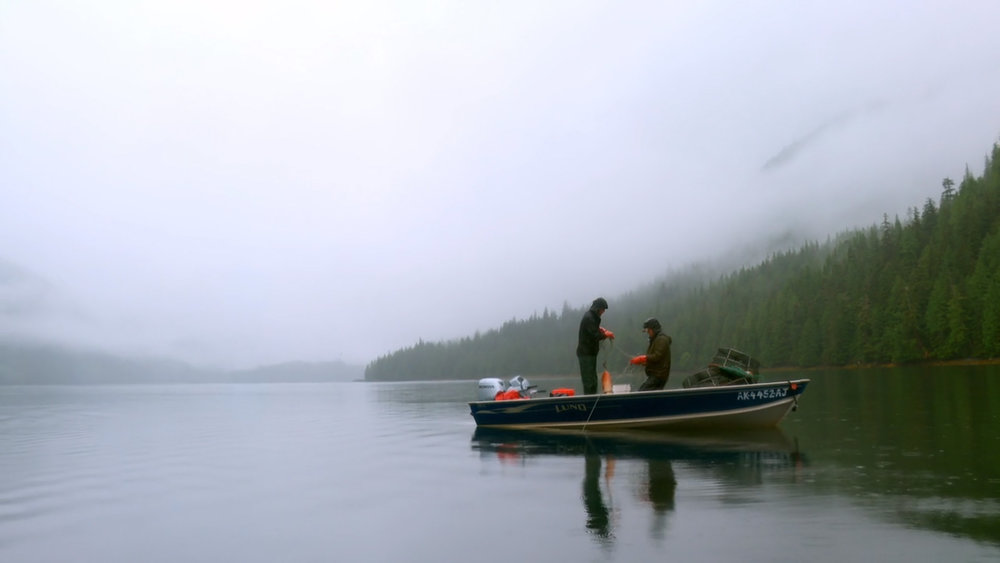Räkfiske i Alaska