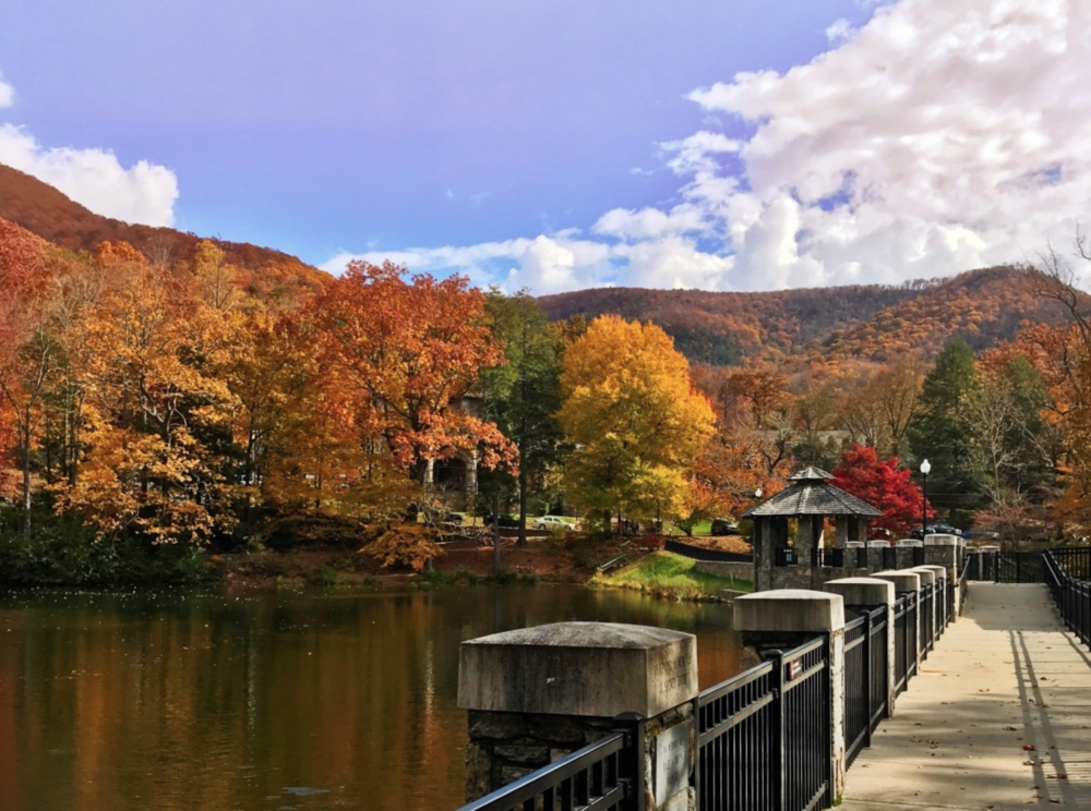 Lake Susan at Montreat Conference Center, Fall 2017.  @montreat
