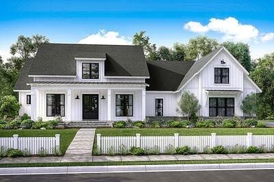 My exterior inspiration for a modern farmhouse...not my home my inspiration!