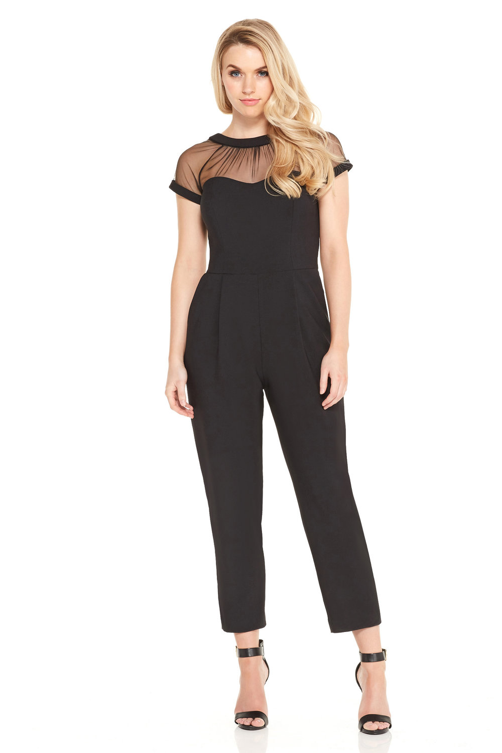 Illusion Jumpsuit | $148
