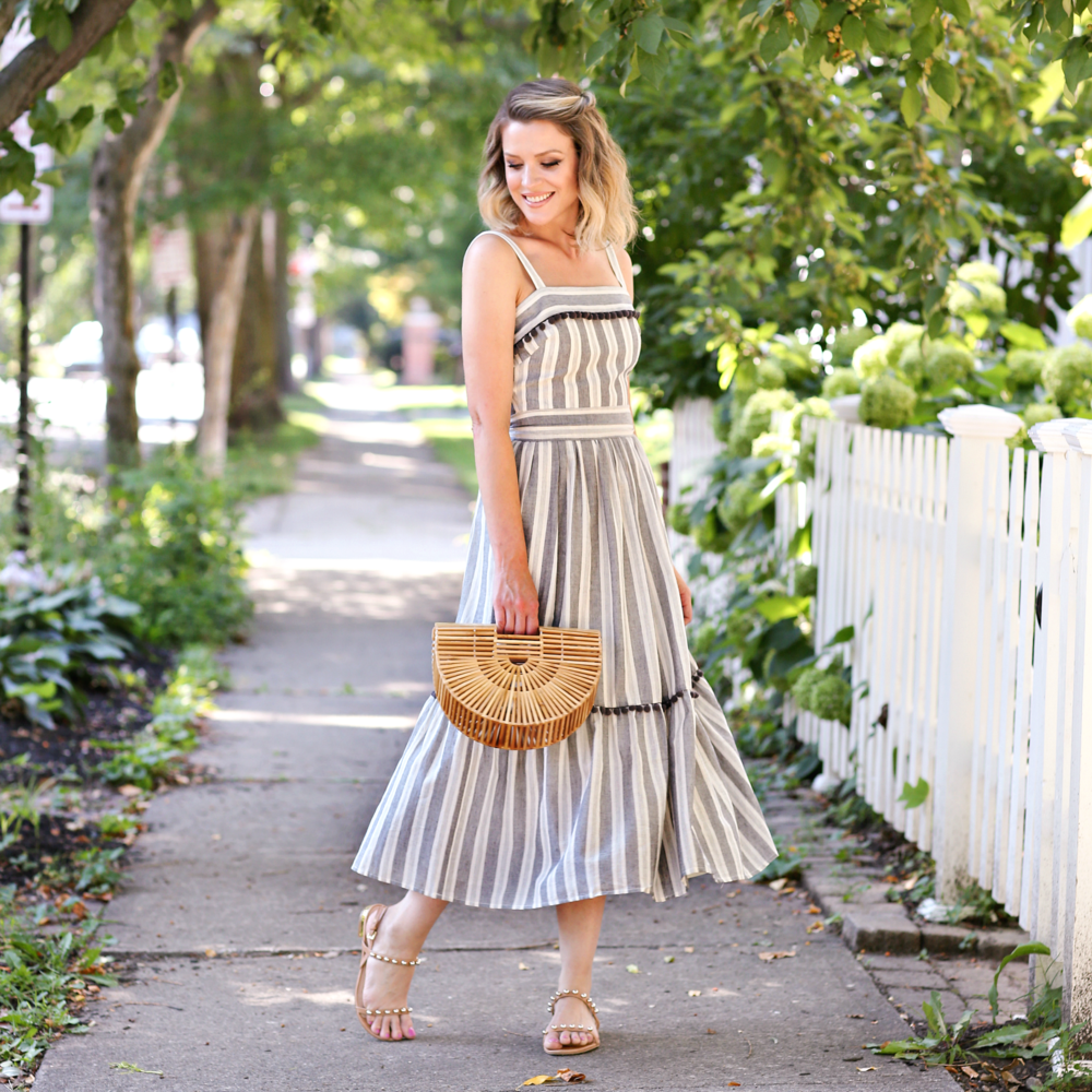 The Danni Maxi - We've been eyeing this maxi all summer, and now is your chance to grab it! Where to wear? Sunny picnics, patio parties, breezy dinner dates...the list goes on! Our Danni dress is perfect way to soak up every last bit of summer — but what about when you just can't seem to take it off? Easy! Throw on a cozy cardigan for an effortless transition into cooler temperatures. Buy (and enjoy) it while you still can!