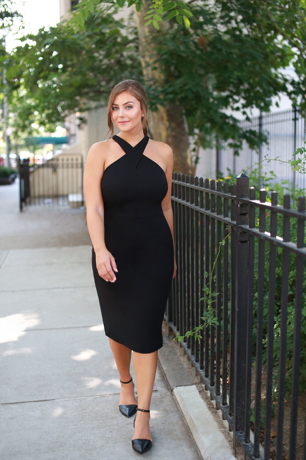 7. Engagement Party - Effortlessly sexy, this classic LBD is completed with the most perfect halter neckline. You'll feel confident and comfortable the whole night celebrating the bride-and-groom-to-be.