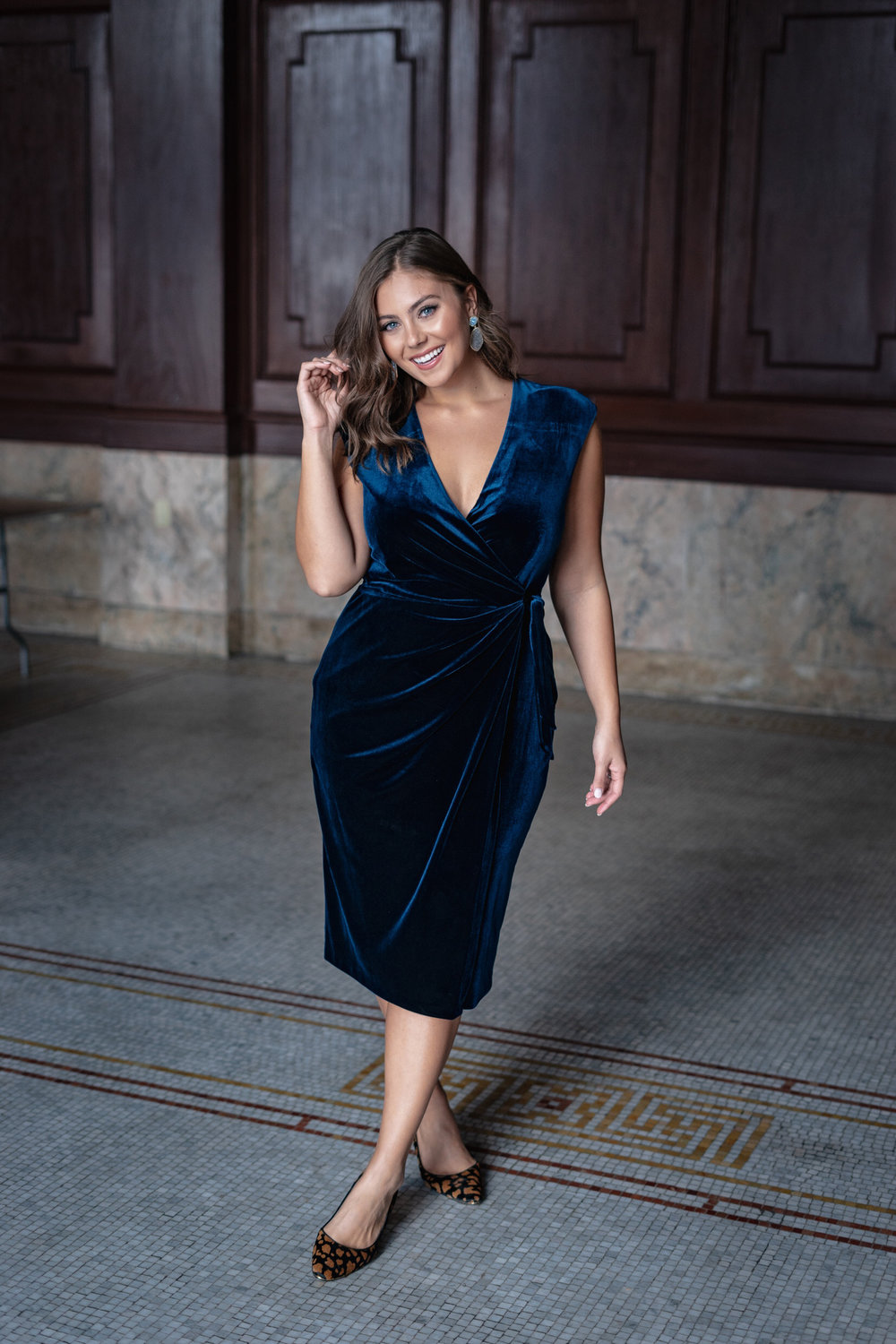For Something Velvet: The Tara Dress