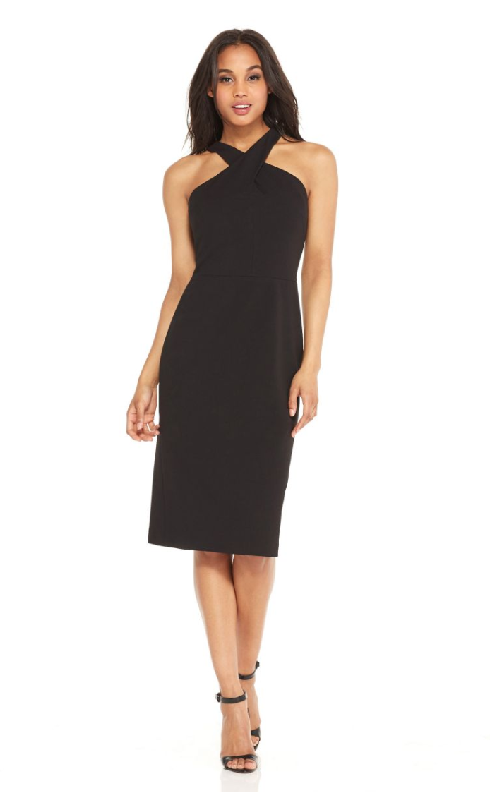 Jessica - What I'm Wearing: I'll be wearing the Stassi Midi!Where I'm Wearing It: An LBD is perfect for every occasion, but this year I'm wearing this dress to my annual Secret Santa gift exchange party!- Jessica, Digital Marketing Intern