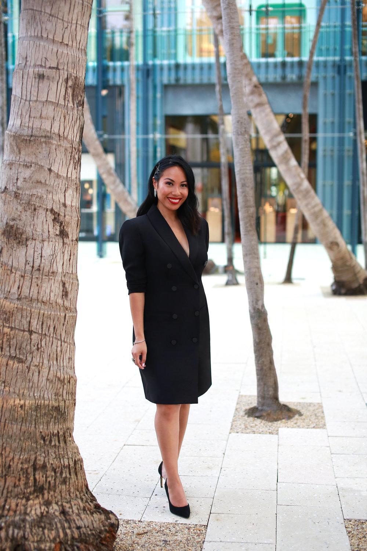 The Toni Tuxedo Dress -