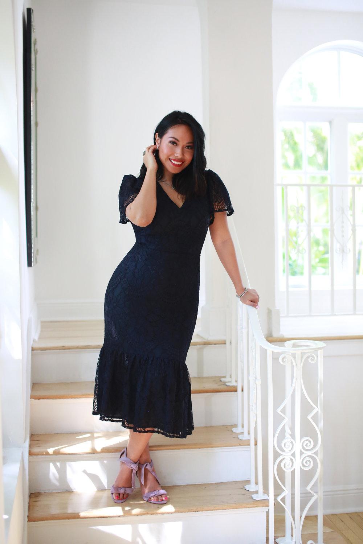 The Lin Flounce Dress -