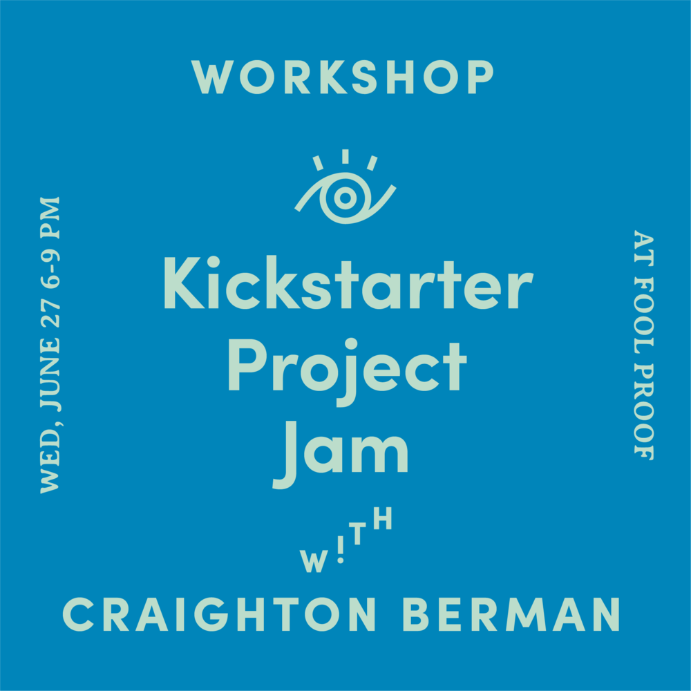 kickstarter project A kickstarter project does more than raise money it brings your creative idea to life and builds community around your work together we'll walk through our creator handbook sharing the five.