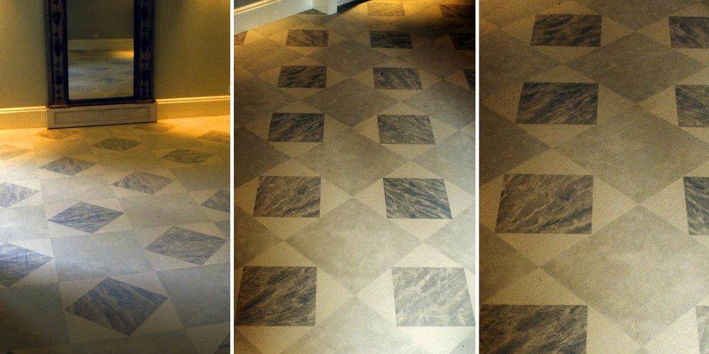 Gray Marble Floor Treatment