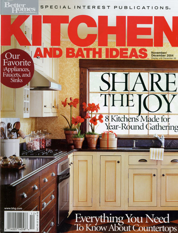 Better Homes and Gardens December 2004