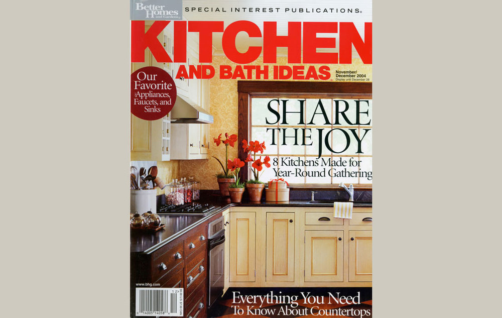 Better Homes and Gardens November/December 2004