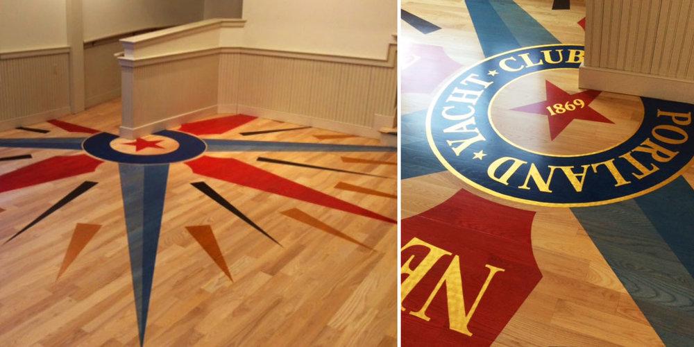 Portland Yacht Club Compass Rose