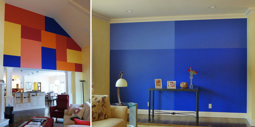 Color Block Walls