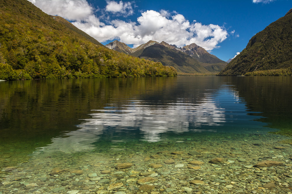Lake Gunn Fiordland National Park
