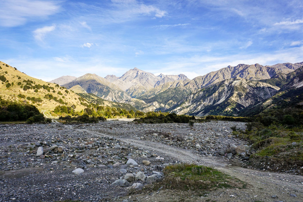 The Kaikoura Ranges
