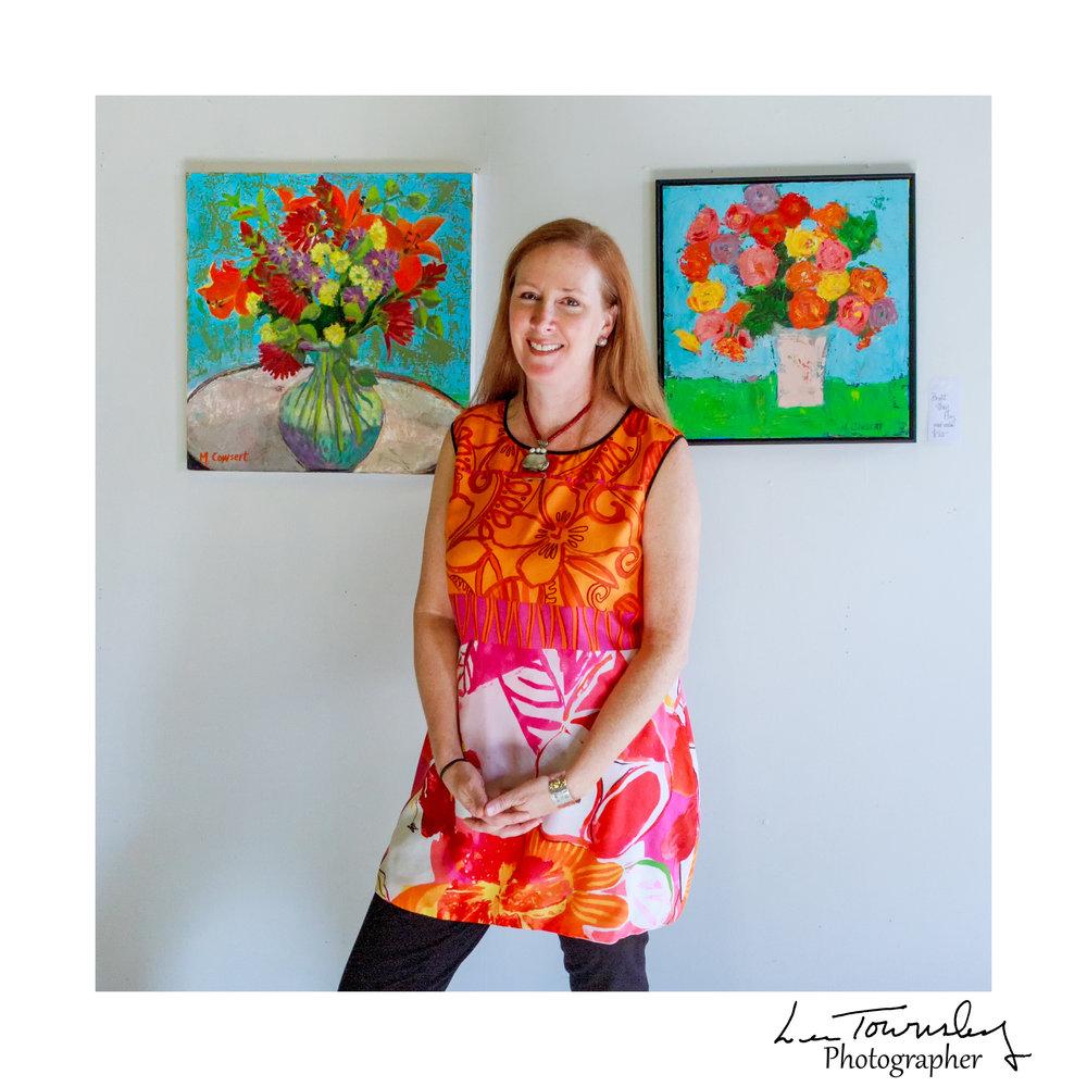 Monica Cowsert's studio