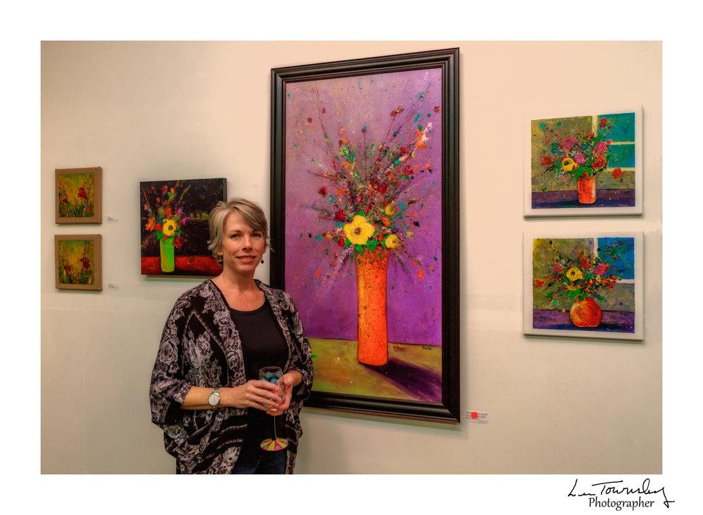 Tanya Slate's studio