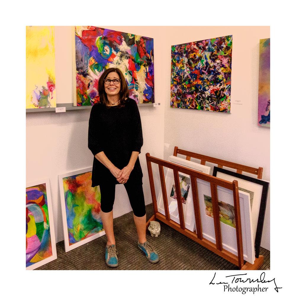 Julie Shunick Brown's studio