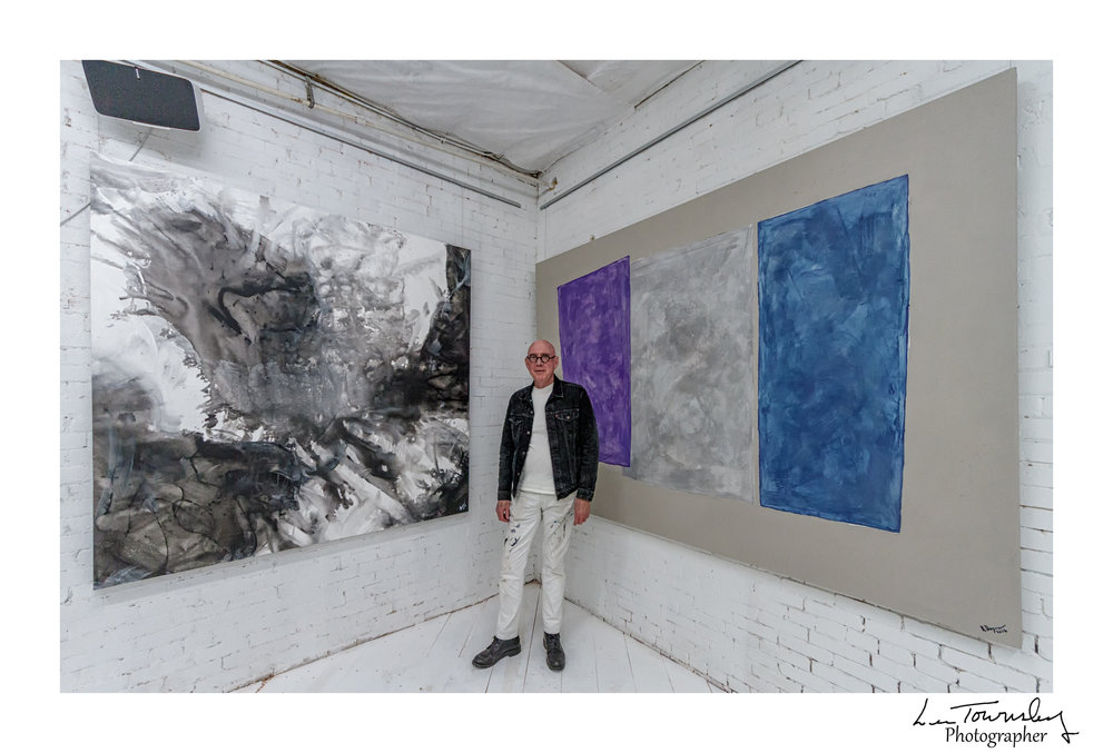 Richard Hogan's studio