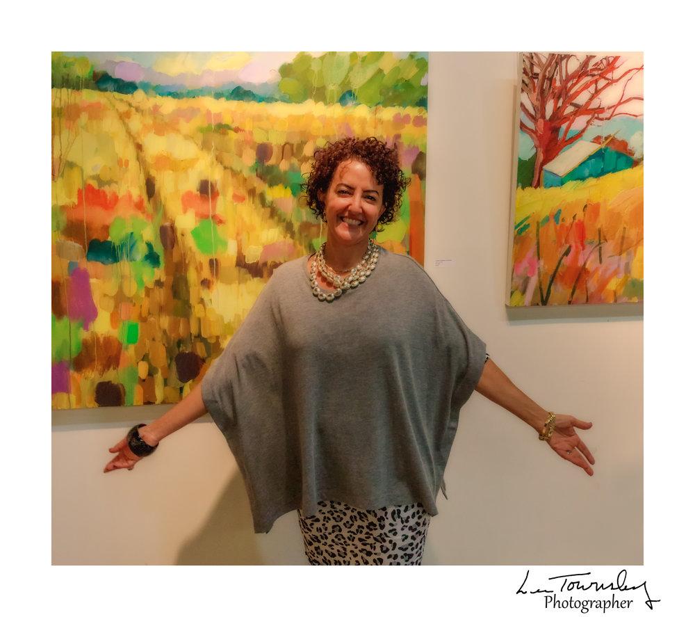 Marianne Gargour's studio