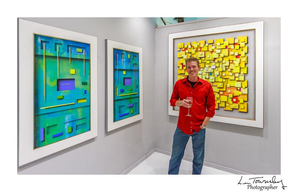 Andrew Kochie's studio