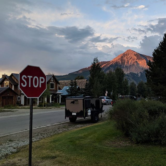 Stop. Look around. The world is pretty amazing, eh? #crestedbutte #colorado