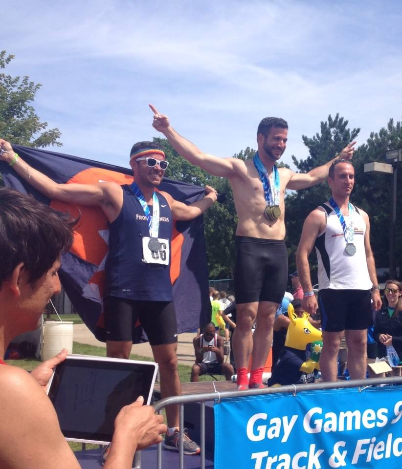 1500M Track & Field from the 2014 Gay Games in Cleveland.