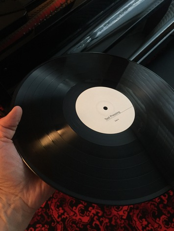The Dials test pressing