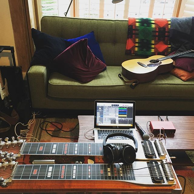 Making demos..... #pedalsteel #pedalsteelguitar