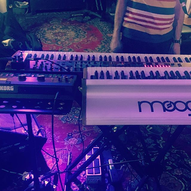 Adding Microkorg to the armoury .... specifically the mellotron / flute #mellotron #korg #microkorg #moog