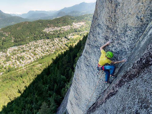 @tomhwright and @squamishrockguides on their new Godforsaken Direct on Slhaney. . . . . . . . #squamish #squamishcom #arcteryx #getolympus #squamishisawesome #tradisrad #hellobc #explorebc #beautifulbc #climbingrocks #climbing_pictures_of_instagram #climbinglife #multipitch #liveclimbrepeat  #climbingnation #getoutstayout #travelstoke #exploregram #travelgram #travelbc #travelphotography #beautifuldestinations #borninthemountains