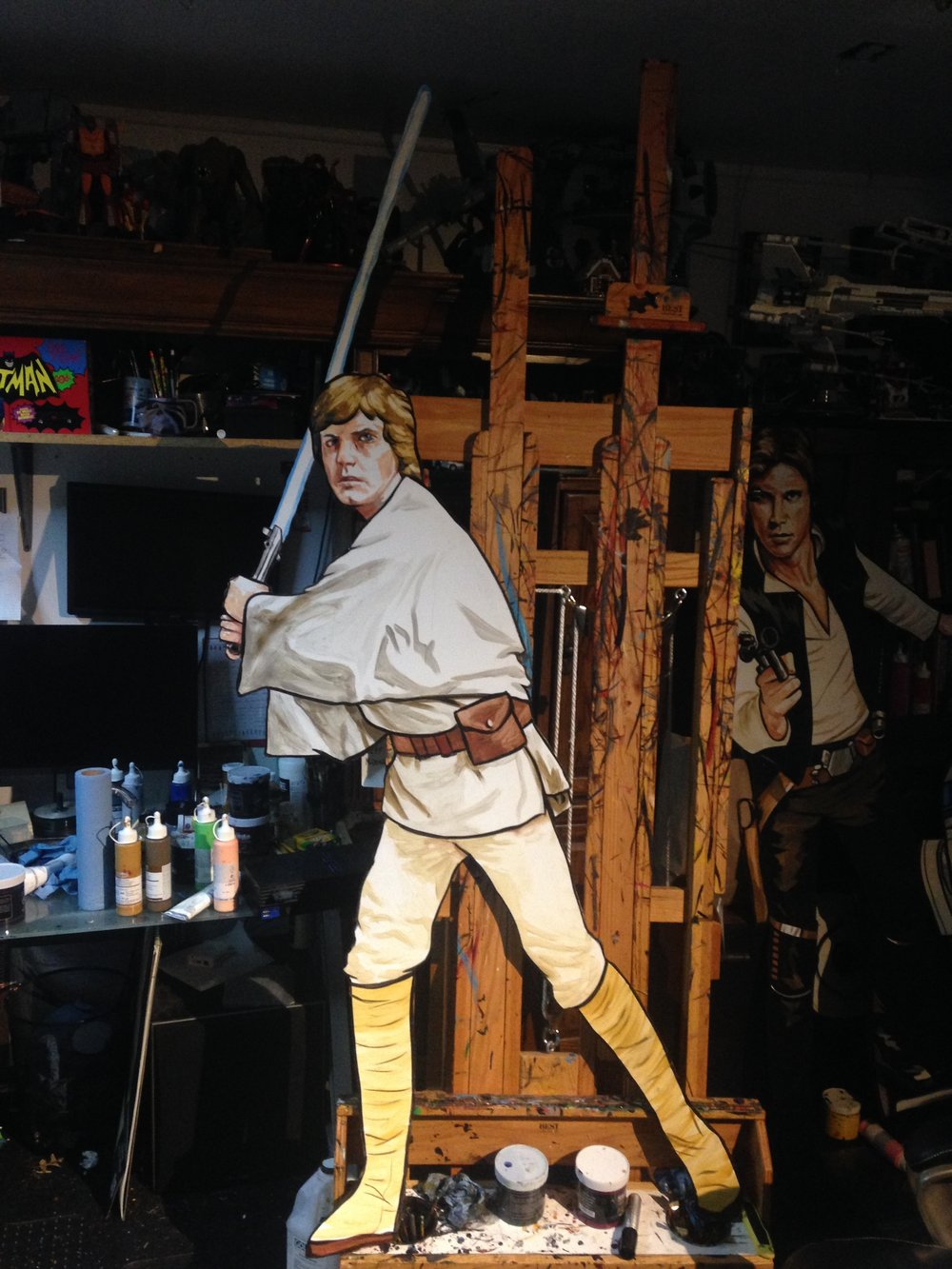 Luke Skywalker 5'6""
